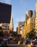 Straatbeeld Boston