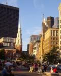Straatbeeld Boston
